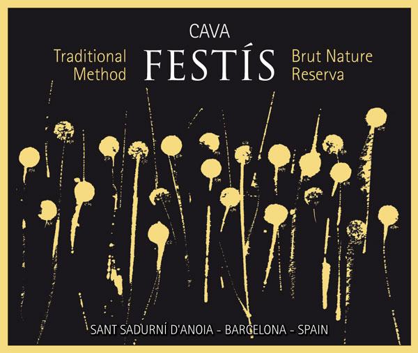 etiqueta Cava Festís