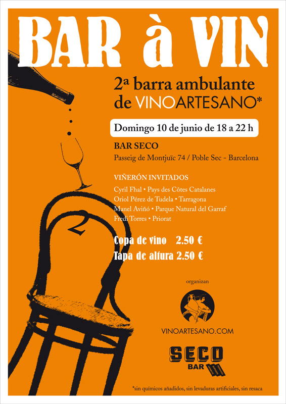 2ª barra de vino ambulante 2012